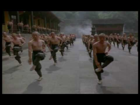 American Shaolin Training Scene