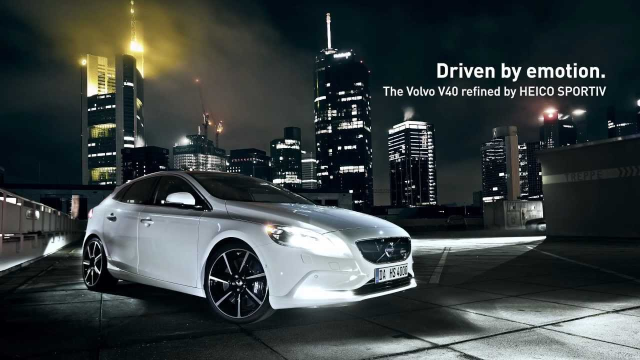 Quot Night Vision Quot The All New Volvo V40 By Heico Sportiv