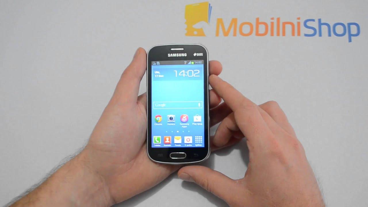 Samsung Galaxy Trend Duos S7392 cena i video pregled - YouTube