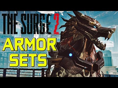 The Surge 2 - ALL ARMOR SETS!