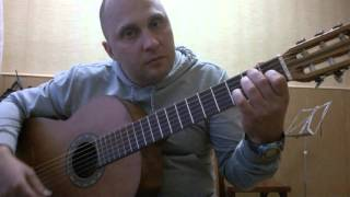 Уроки гитары.Мелодия из фильма Профессионал CHI MAI.3 Часть