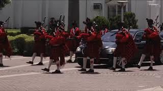 President George Weah of Liberia visits Nigeria