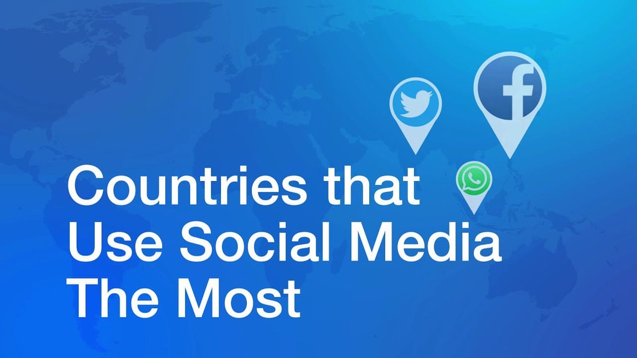 Countries That Use Social Media the Most