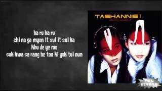 Tashannie - Haru Haru Lyrics (easy lyrics)
