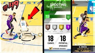 I INJURED STEPH CURRY! MAXED SHOOTING BADGES! NBA 2k20 MyCAREER Ep. 49 (OFFENSIVE THREAT)