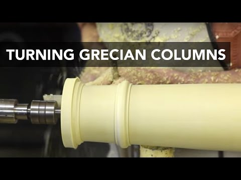How to Turn Grecian Columns