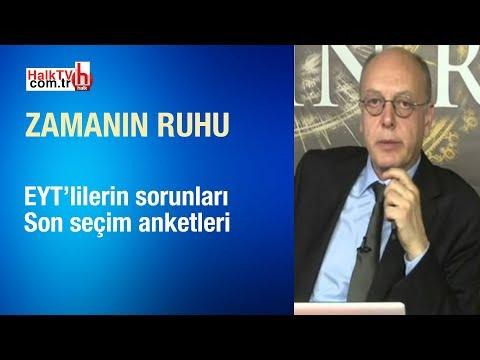 EYT'lilerin sorunları ve son seçim anketleri /Cüneyt Akman ile Zamanın Ruhu/24.02.2019