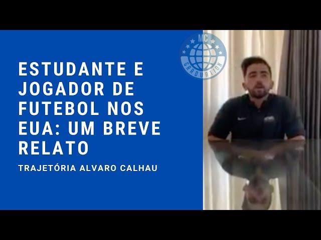 Estudante e jogador de futebol pela Bethel University nos EUA