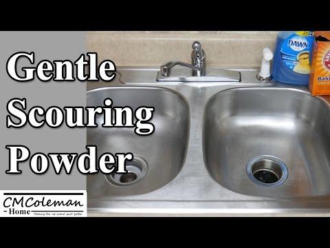 Homemade Gentle Scouring Powder