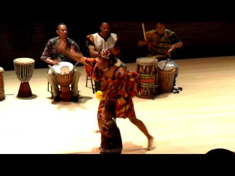 Mali African Dance - Lovett Middle School (November 15, 2009)