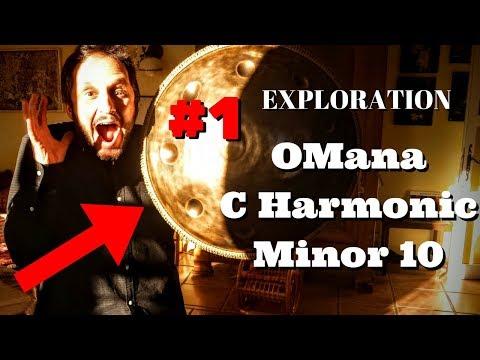 Exploration #1 OMana C Harmonic Minor 10 Handpan (new 2017)