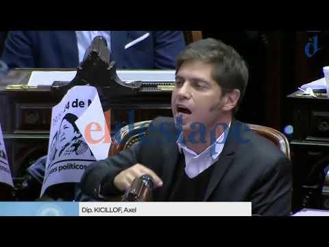 HARTO: Kicillof destrozó a Macri en el Congreso