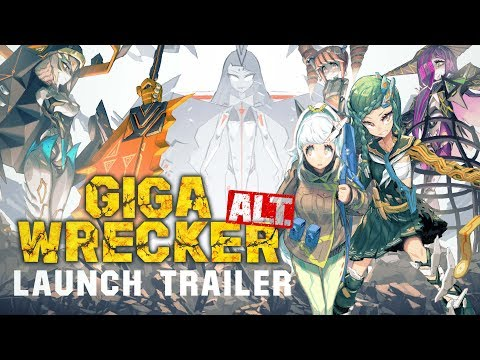 Giga Wrecker Alt. launch trailer will do you no 'arm