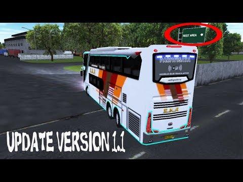 Review Update V1.1 Mobile Bus Simulator Eka Patas | Game Bus Simulator Android