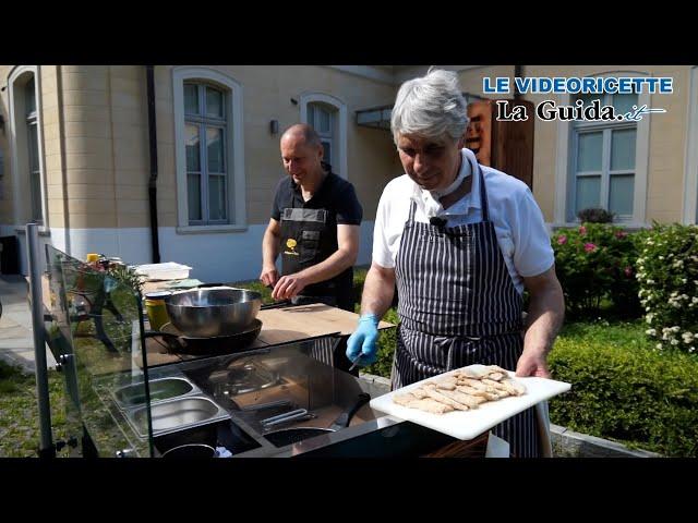 Videoricetta: scaloppine di pollo in carpione