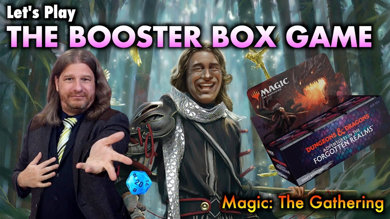 Let's Play The Booster Box Game For The Dungeons & Dragons MTG Set!