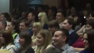 Флешмоб на концерте шоу ИМПРОВИЗАЦИЯ в Нижнем Новгороде