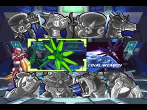 Megaman X4 Capitulo 8 - YouTube
