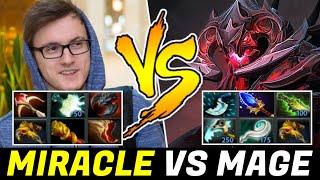MIRACLE vs MAGE again — Right Click Boss vs Full Magic Shadow Fiend
