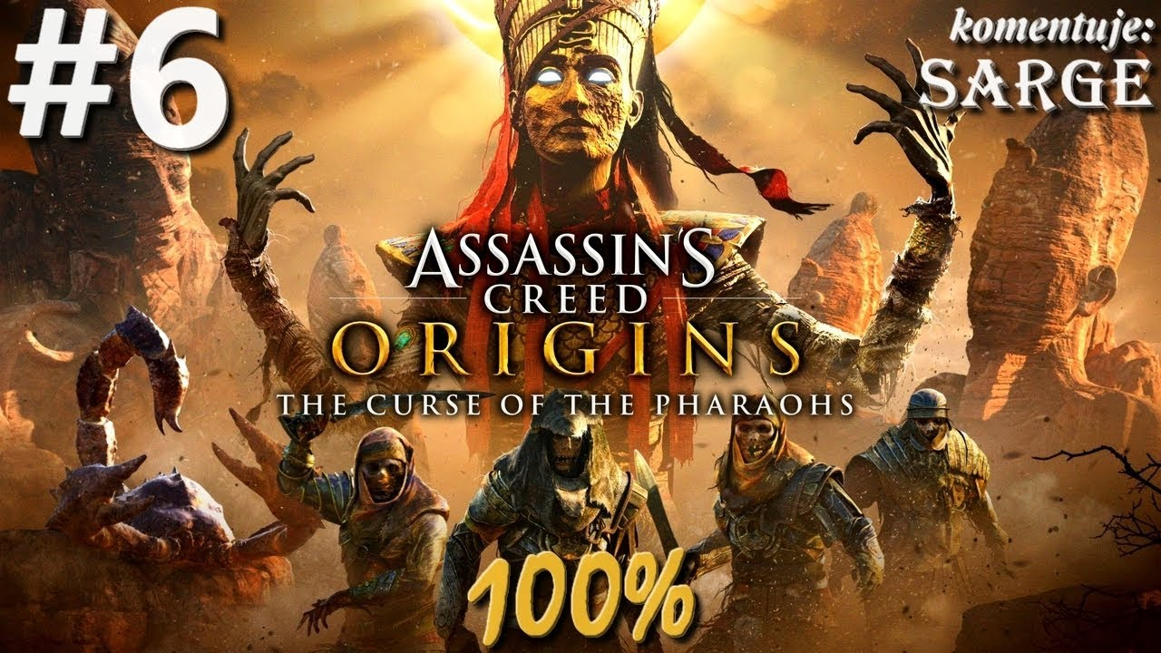 Zagrajmy w Assassin's Creed Origins: The Curse of the Pharaohs DLC (100%) odc. 6 – Nefertiti