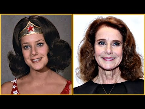 Wonder Woman TV Series (1975-1979) Then and Now 2019