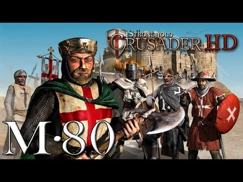 Stronghold Crusader Gameplay, Mission 80. The Big One - Part 1 (Warchest Trail)