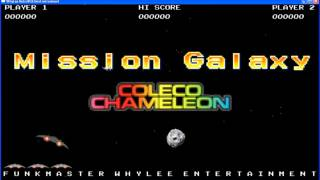 Work in Progress - Mission Galaxy for some Console (maybe RVGS / Coleco Chameleon ???)