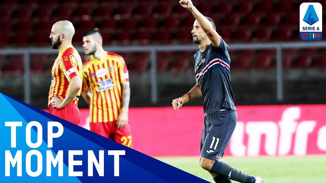 Ramirez Scores an INCREDIBLY Lucky Penalty Despite Gabriel Save!   Lecce 1-2 Sampdoria   Serie A TIM