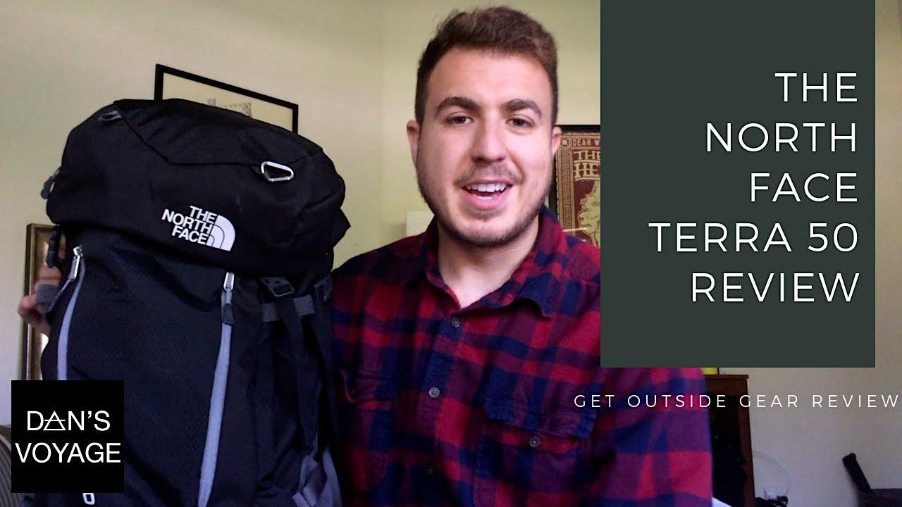 großartige Qualität offizieller Verkauf Exklusive Angebote The North Face Terra 50 Backpack Review