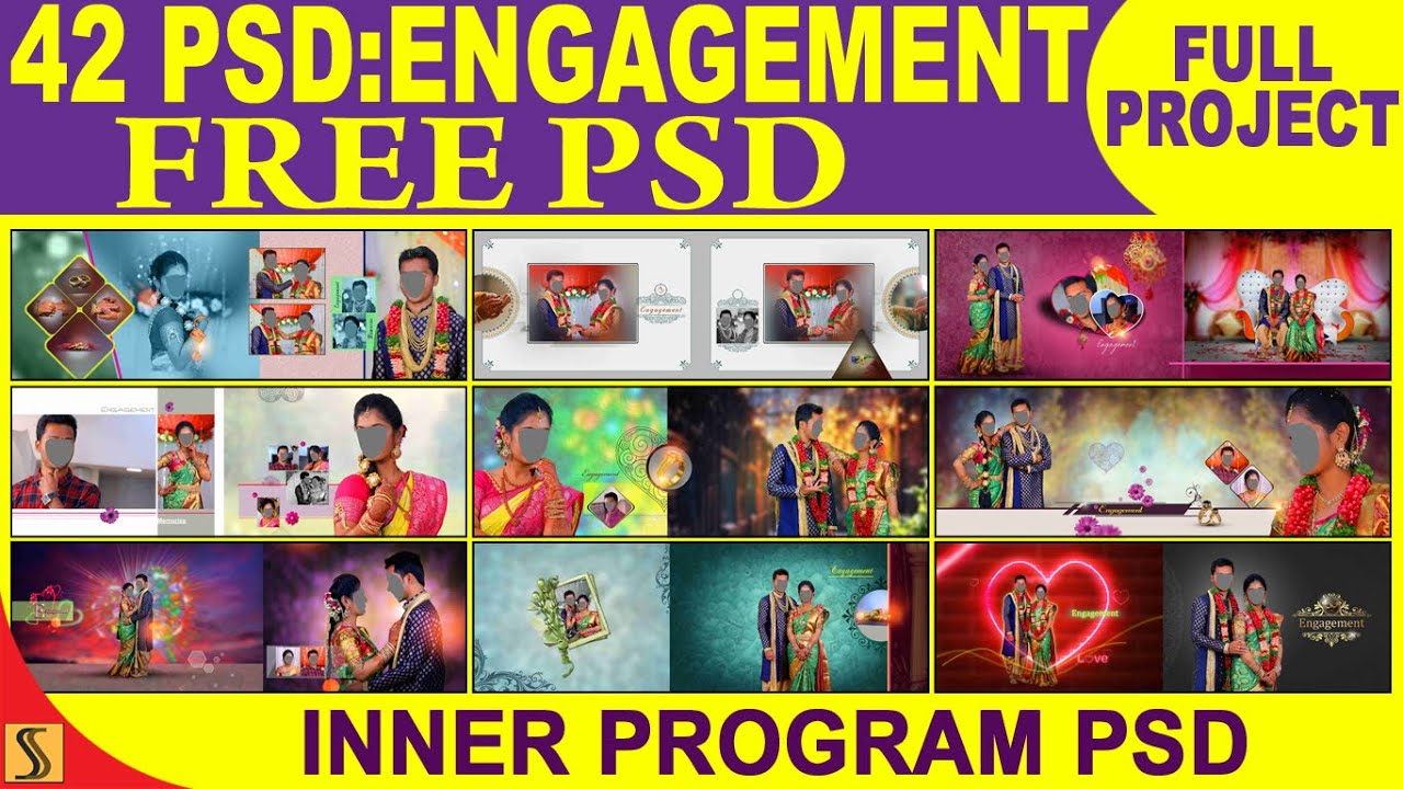 42 hseets engagement Free Download 12x36 latest PSD full project Album  Templates[ss free psd]#624