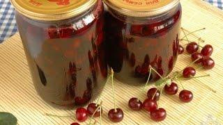 Заготовки на зиму Вишня в собственном соку(Предлагаю закрыть на зиму вишни без косточек. Они пригодятся нам для вареников, пирогов, из них можно варить..., 2015-06-22T11:03:59.000Z)