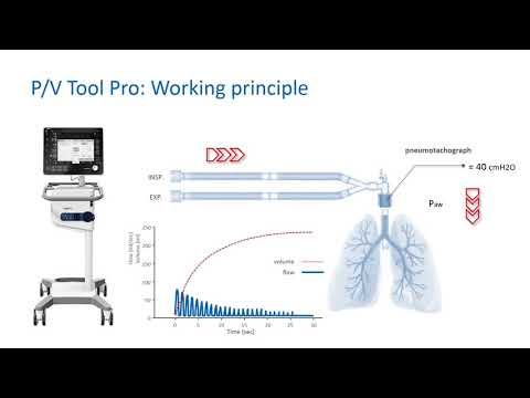 P/V Tool Pro: Assessing lung recruitablity and performing recruitment maneuvres