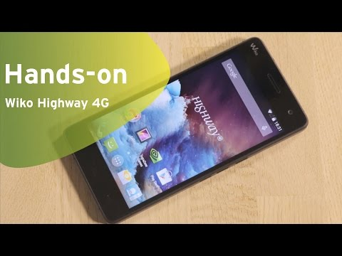 Wiko Highway 4G hands-on (Dutch)