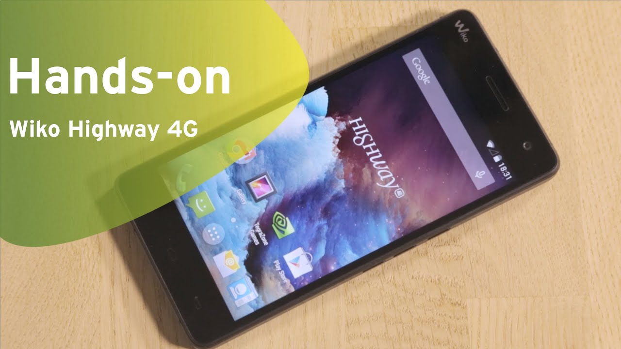 various colors buying cheap online store Wiko Highway 4G hands-on (Dutch)