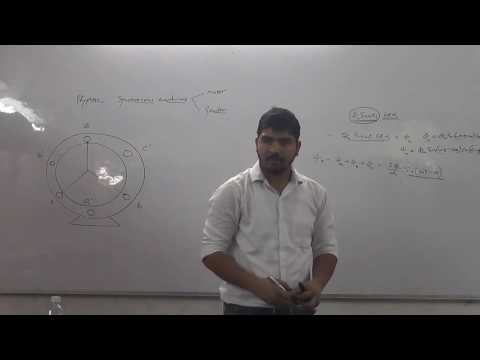 ELECTRIC MACHINES: Synchronous Machine (13-10-16) : Lecture 1