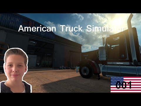 American Truck Simulator #001 | DrabNation [German/HD]