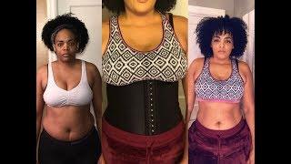 Waist training Before & After 11 months. Yianna Waist Trainer