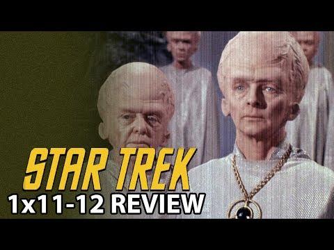 Star Trek The Original Series Season 1 Episodes 11 & 12 'The Menagerie' Review