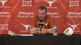 Tom Herman Press Conference [Oct. 13, 2018]
