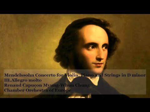 Mendelssohn Concerto for Violin, Piano and Strings