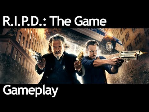 R.I.P.D.: The Game - Gameplay