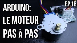 U=RI | Arduino Ep.18 - Comment utiliser un moteur pas à pas?