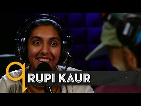 "Rupi Kaur Brings ""Milk And Honey"" To Studio Q"