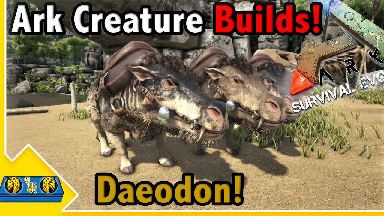 Daeodon Guide For Ark Survival Evolved By Mitt Gaming We have deaeodons with food level around 80k, what we use to heal the rexes between boss battles. daeodon guide for ark survival evolved
