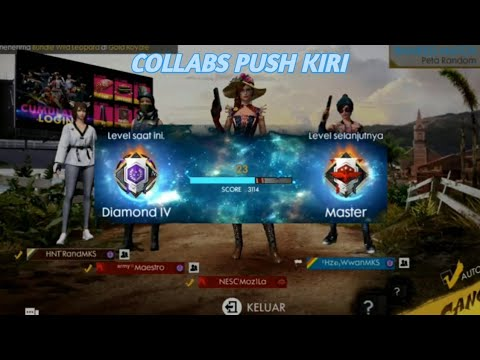 PUSH KE KIRI Feat. Moz1La, WwanMKS, RandMKS - FREE FIRE BATTLEGROUND