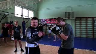 Бокс. Групповая тренировка