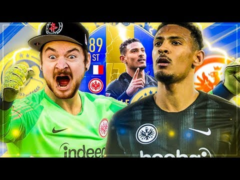 TOTS Haller SQUADBUILDER BATTLE 🔥 vs EventStreamer 😱 FIFA 19
