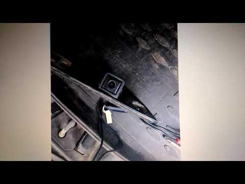 Камера заднего вида киа спортейдж 3,в штатную проводку