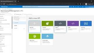 Azure API Management - Create Your First API