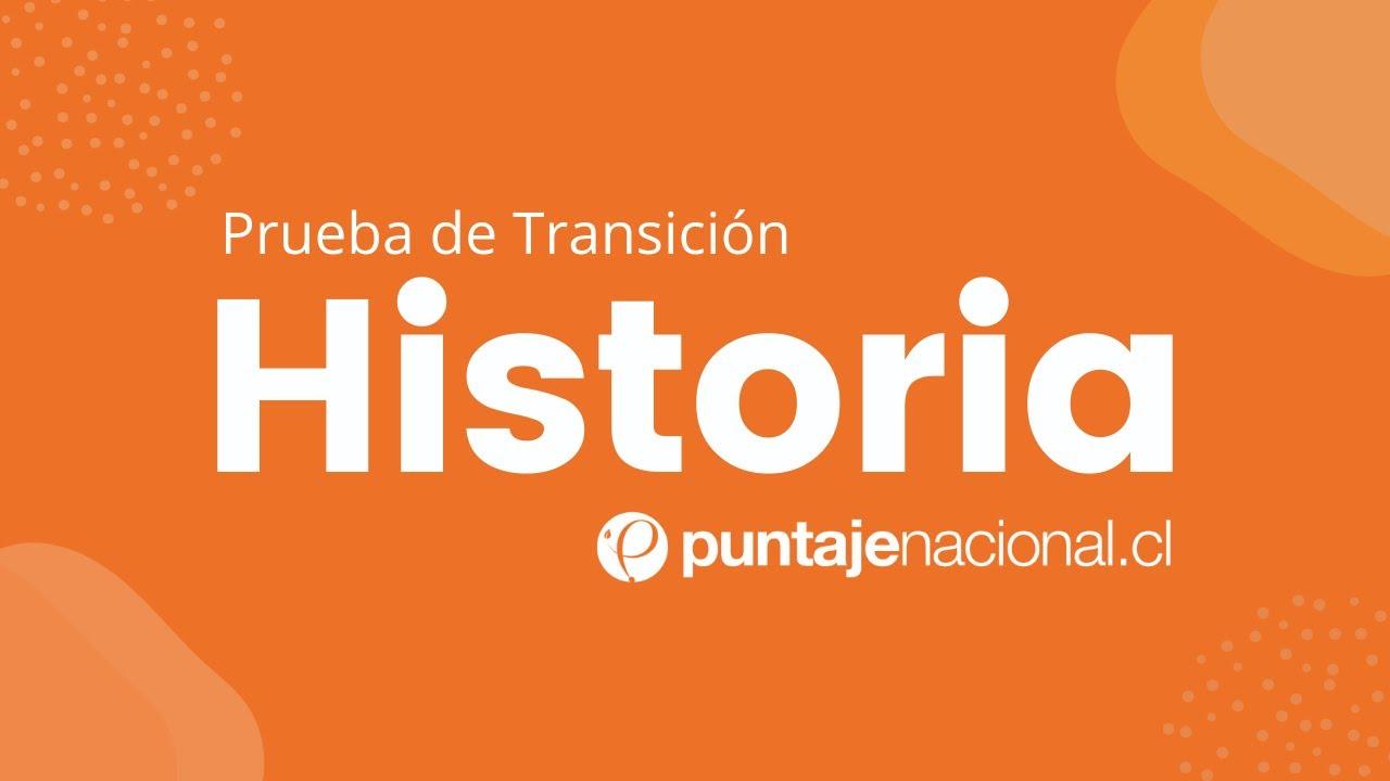 Ayudantía Prueba de Transición HISTORIA | La transición a la democracia en Chile